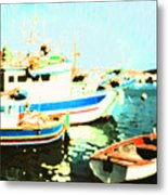 Maltese Harbor Metal Print