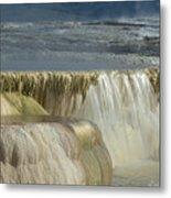 Mammoth Hot Springs - Yellowstone Metal Print