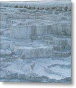 Mammoth Hot Springs Travertine Terraces One Metal Print
