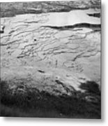Mammoth Ripples Metal Print