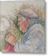 Man From Aran Metal Print