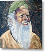 Man In The Green Turban Metal Print