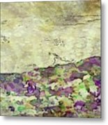 Man In The Lansdscape By Mary Bassett Metal Print