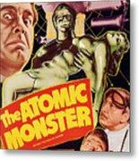 Man Made Monster, Aka The Atomic Metal Print