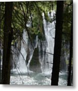 Man Of The Falls Metal Print