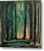 Man Of The Forest Metal Print