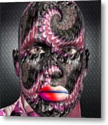 Studio Man Render 21 Metal Print