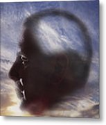 Man With Alzheimers Disease Metal Print