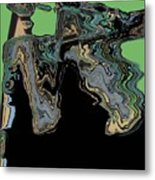 Man Woman Metal Print