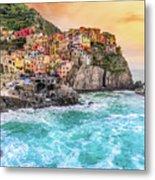 Manarola - Cinque Terre National Park - Liguria - Italy Metal Print