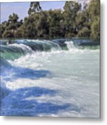Manavgat Waterfall - Turkey Metal Print