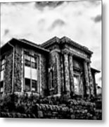 Manayunk Branch Of The Free Library Of Philadelphia Metal Print