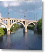 Manayunk Rail Road Bridge Metal Print