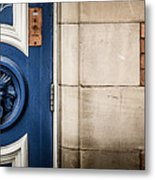 Manchester Doorway Metal Print