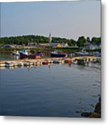 Manchester Harbor Manchester By The Sea Ma Metal Print