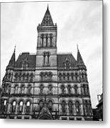 Manchester Town Hall England Uk Metal Print