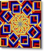 Mandala 2 Metal Print