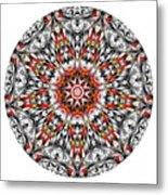Mandala - Amulet 873 For Those Born In ..... Metal Print