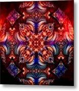 Mandala Magic Metal Print