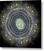Mandala Movement Metal Print