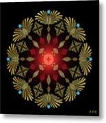 Mandala No. 4 Metal Print