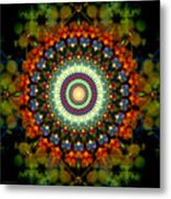 Mandala Of Loves Journey Metal Print