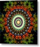 Mandala Of Loves Journey Metal Print