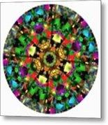 Mandala - Talisman 1108 - Order Your Talisman. Metal Print