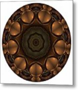 Mandala - Talisman 1392 Metal Print