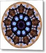 Mandala - Talisman 1396 Metal Print