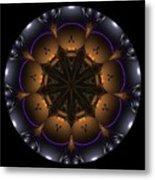 Mandala - Talisman 1431 Metal Print