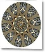 Mandala - Talisman 1434 Metal Print