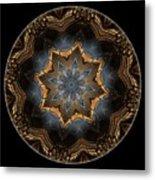 Mandala - Talisman 1445 Metal Print