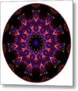 Mandala - Talisman 1448 Metal Print