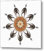 Mandala - Talisman 1630 Metal Print