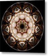 Mandala - Talisman 3708 Metal Print