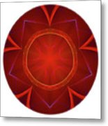 Mandala - Talisman 4006 Metal Print