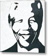Mandela Metal Print