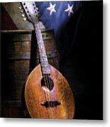 Mandolin America Metal Print by Barry C Donovan