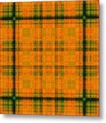 Mandoxocco-wallpaper-orange-green Metal Print