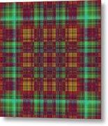 Mandoxocco-wallpaper-red-green Metal Print