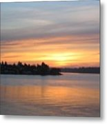 Manette Sunrise Metal Print