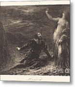 Manfred And Astarte (2nd Plate) Metal Print