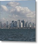 Manhattan And Governors Island Metal Print