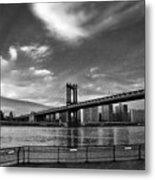 Manhattan Bound Metal Print