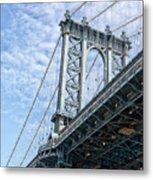 Manhattan Bridge 4 Metal Print