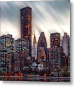 Manhattan Daze Metal Print