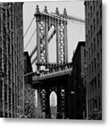 Manhattan Empire Metal Print