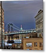 Manhattan Empire State Metal Print