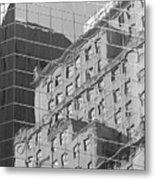 Manhattan Facades IIi Metal Print